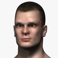 Man Head 3