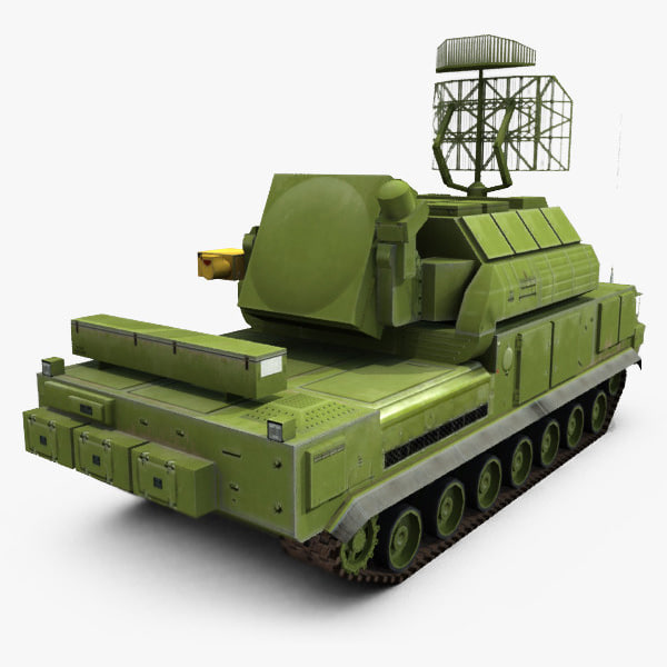 sa-15 gauntlet tor-m1 3d 3ds