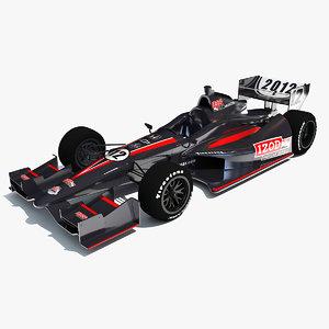 3ds max izod indycar race car