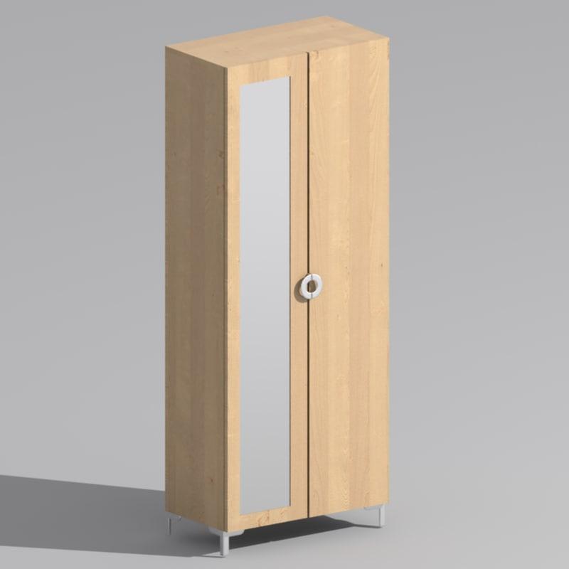 3ds Ikea Engan Wardrobe