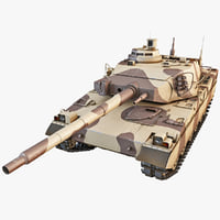 amx-40 french main battle tank 3d 3ds