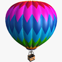 3ds max air balloon
