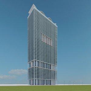 3d model new skyscraper 04