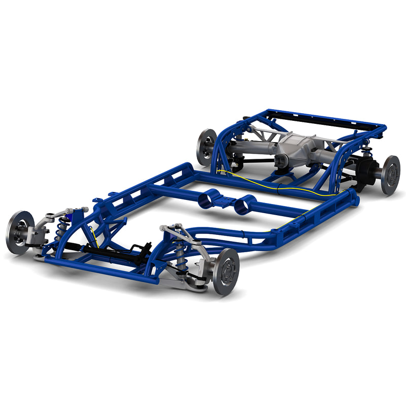 corvette chassis 2 3ds