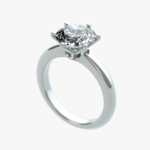 diamond ring 3d 3ds