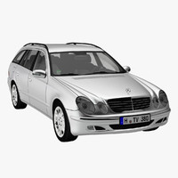 mercedes benz e class 3d model