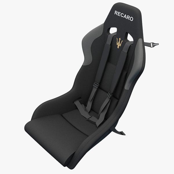 3ds maserati seat 2