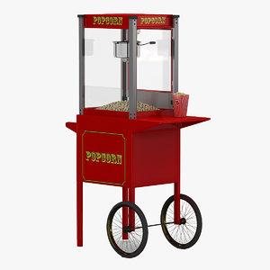 popcorn machine 2 3d 3ds