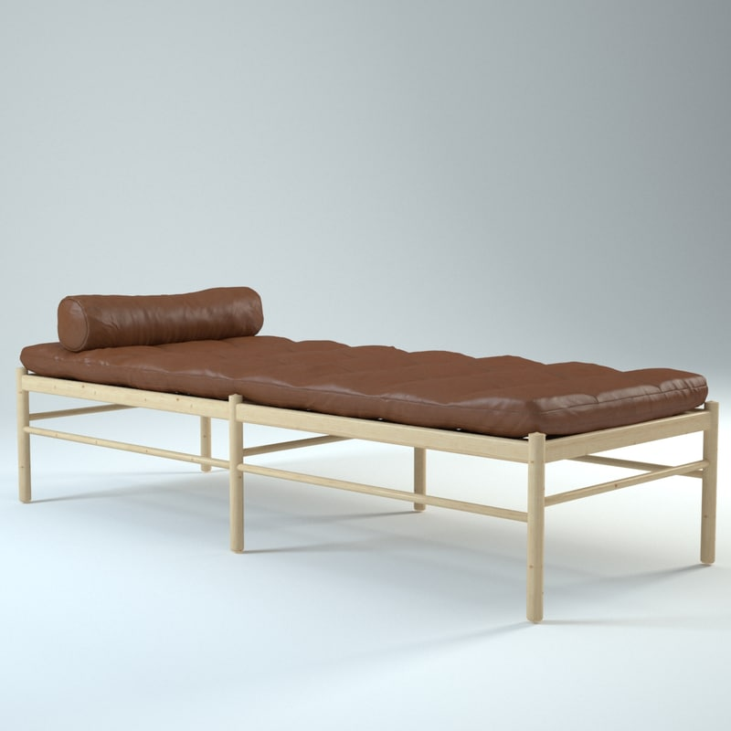 3ds max colonial daybed