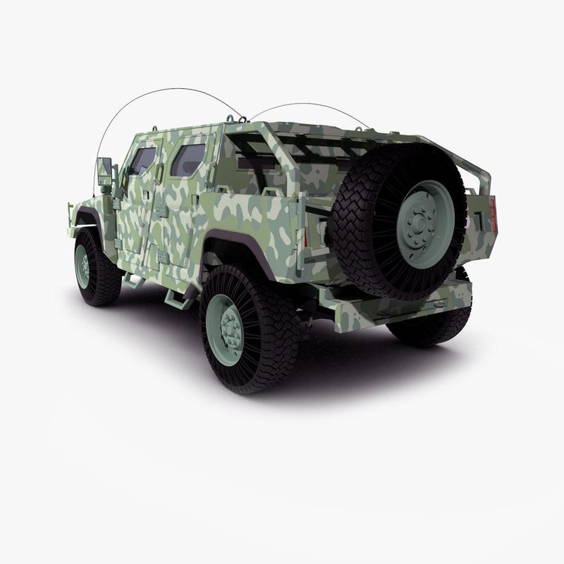 3d command vehicle