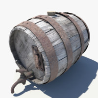 Old Wooden Keg