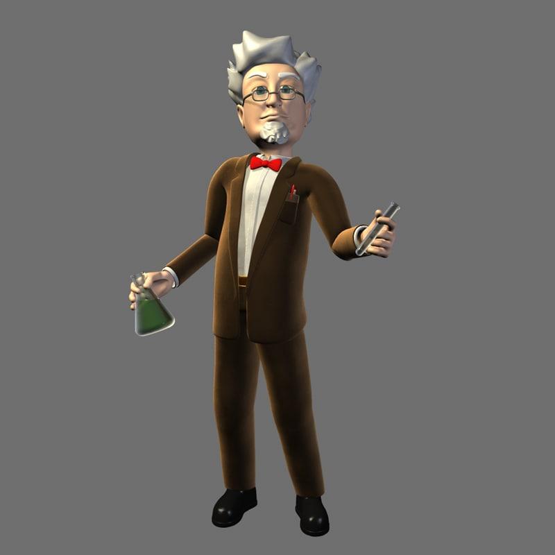 3d professor