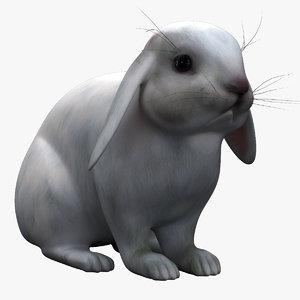 white rabbit 3d 3ds
