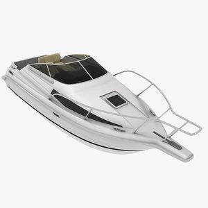 boat bayliner cierra 2655 3d 3ds
