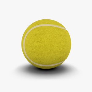 3ds max tennisball tennis ball