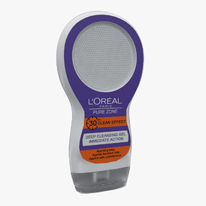 max loreal pure zone gel