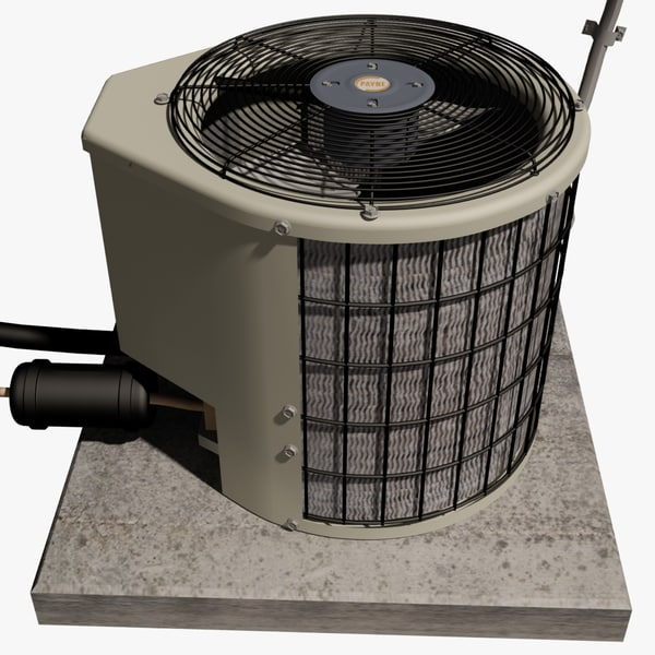 3ds max payne air conditioning unit