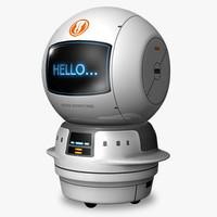 3d service robot