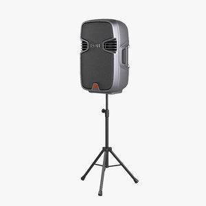jbl eon 315 portable 3d model