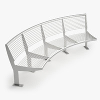 - bench 3d max