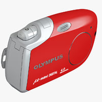 olympus m mini red 3ds