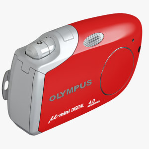 olympus m mini red 3ds