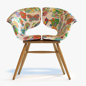 max tortie hoare butterfly chair