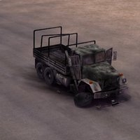 lwo abandoned truck