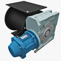 water pump 2 3d 3ds