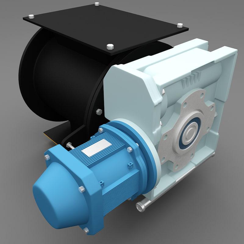 water pump 2 3d 3ds