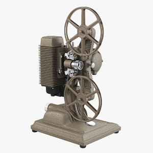 3d revere 85 8mm film projector