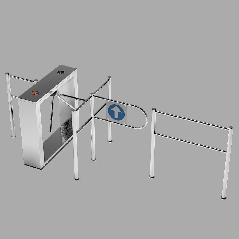 perco entrance control 3d obj
