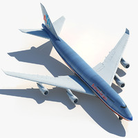 Boeing 747 American Airlines