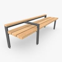 Street Bench 02