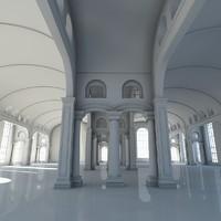 Classic Interior Scene 2013
