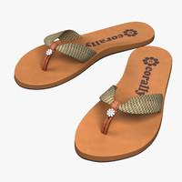 female flip flops max