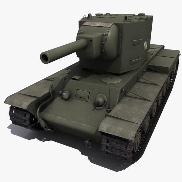 3d kv-2 2 model
