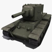 Soviet Tank KV-2