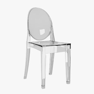 victoria ghost chair 3d 3ds