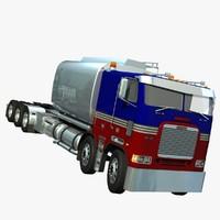3d freightliner fla truck