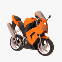 ninja bike 3d max