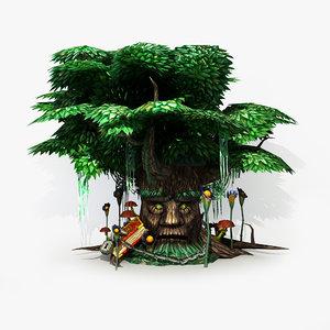 3ds max magic tree