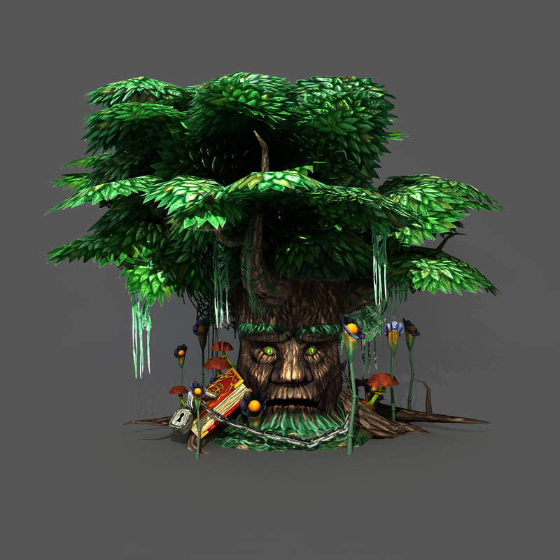 3ds max magic tree