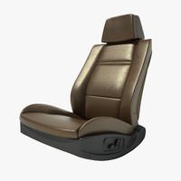 auto chair 3d model