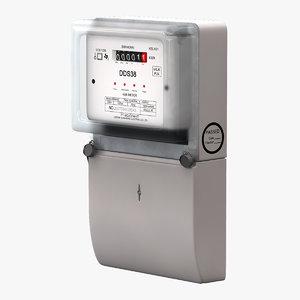 3d electric meter dds38