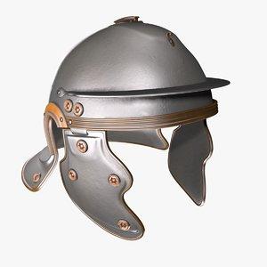 gallic helmet 3d model