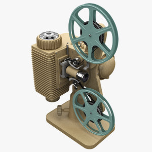 old movie projector revere 3d 3ds