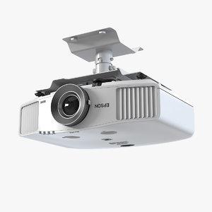 3d model epson projector mount