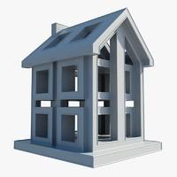 building icon 3d max