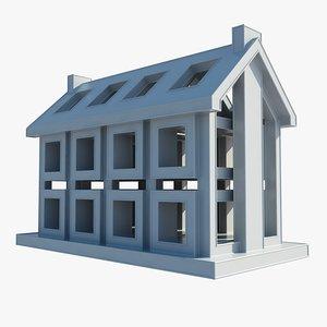 building 2 3d 3ds